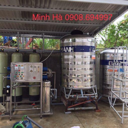 Máy lọc nước tinh khiết Ro 500 lít/giờ