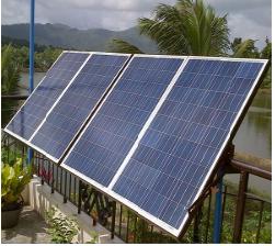 Pin năng Lượng mặt trời hòa lưới 2.5Kw