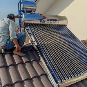 Máy nước nóng năng lượng mặt trời Bình Minh 180 lít