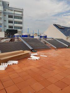 Máy nước nóng năng lượng mặt trời Công nghiệp Bình Minh