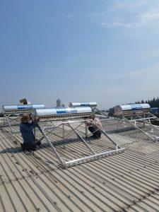 Máy nước nóng năng lượng mặt trời Bình Minh tại Thủ Dầu Một