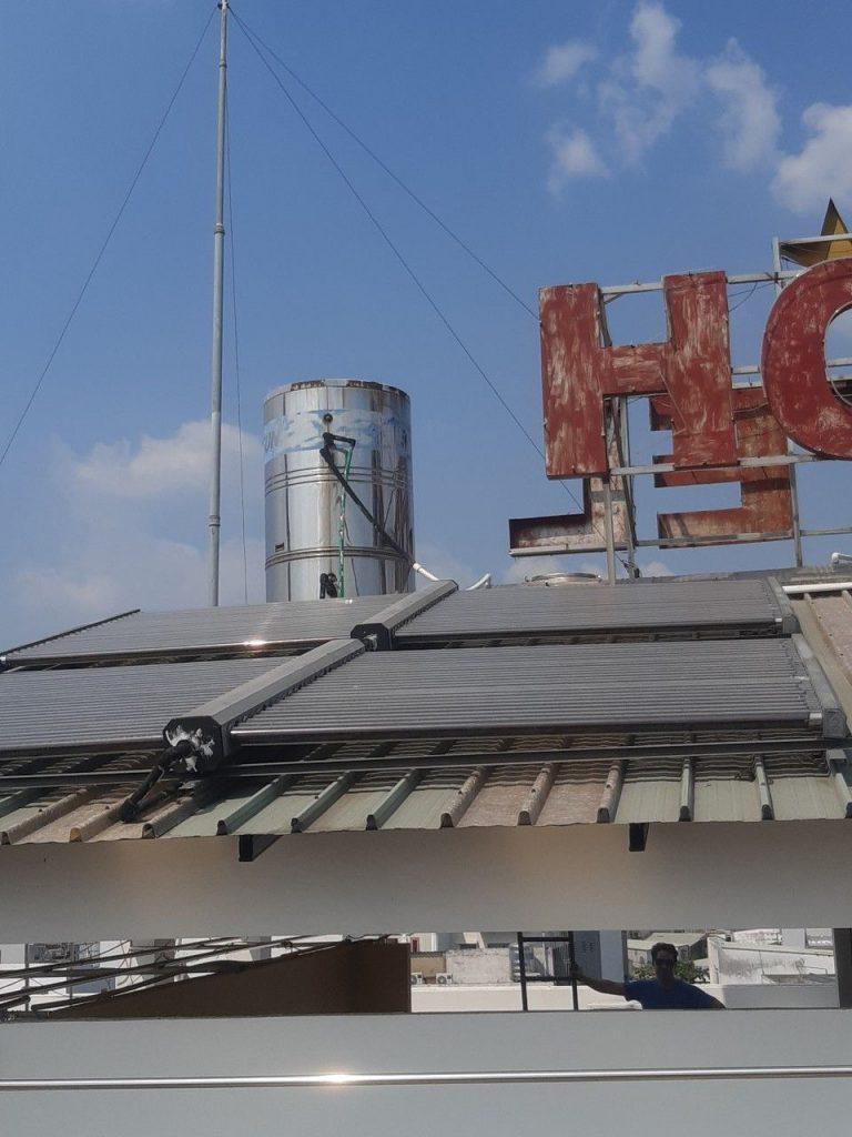 Dịch vụ hàn, sửa bồn nước nóng công nghiệp