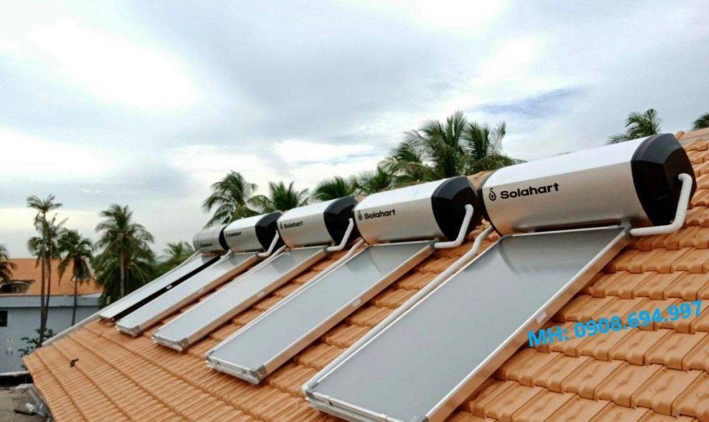 Máy nước nóng năng lượng mặt trời Solahart 180 Lít