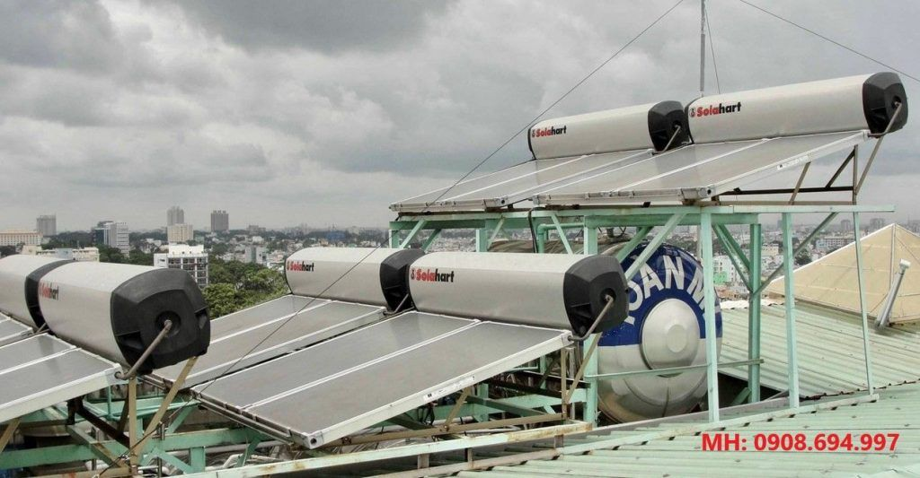 Máy nước nóng năng lượng mặt trời Solahart 300 Lít